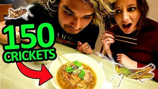 I Tried Japan's INSECT Ramen Challenge