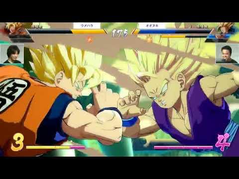 TGS 2017 - Daigo & Nuki playing Dragon Ball FighterZ