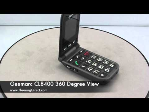 Geemarc CL8400 360 Degree View