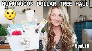 HUMONGOUS Dollar Tree Haul 💕 Amazing NEW Items😯
