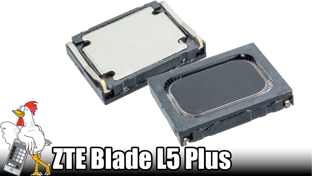 Manuales / ZTE Blade L5 Plus / Speaker | Nadie Me Llama Gallina