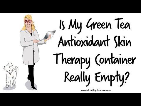 Green Tea Antioxidant Skin Therapy [2018] Dermatologist - Dr. Bailey Skin Care