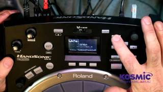 Roland Hand Sonic HPD-20 Demo