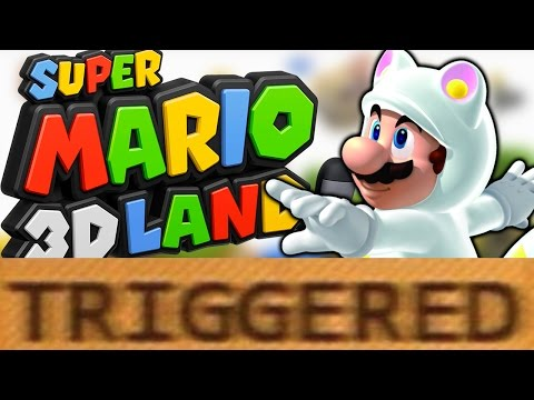 How Super Mario 3D Land TRIGGERS You!