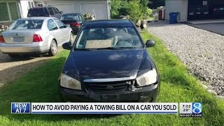 Man stuck with towing bill months after car sold