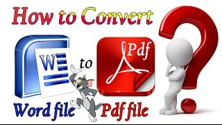 how to convert word file to pdf file in telugu