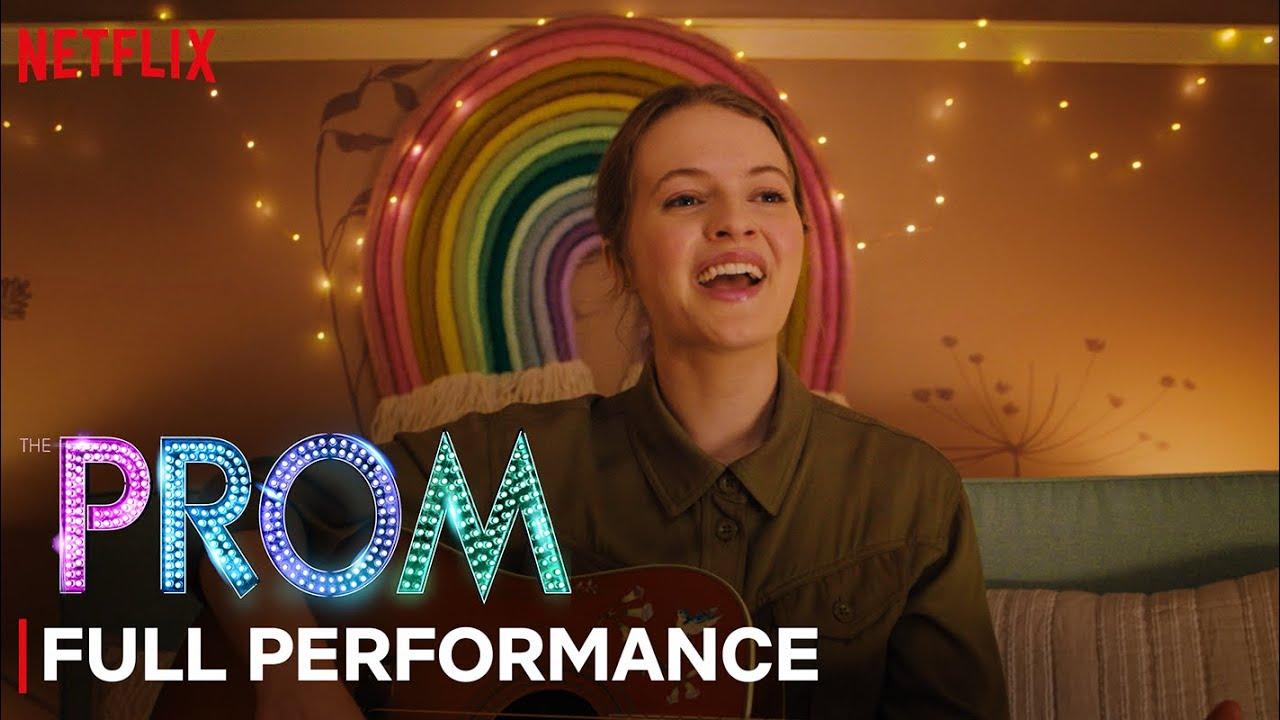 Download The Prom | Unruly Heart - Jo Ellen Pellman FULL PERFORMANCE | Netflix