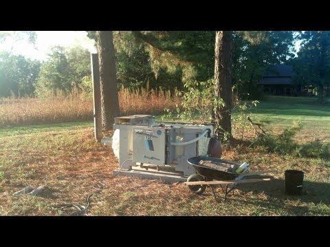 My homemade water boiler - YouTube