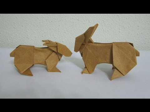 How to make the amazing Origami Rabbit