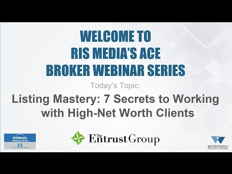 Listing Mastery: 7 Secrets to Working with High-Net Worth Client