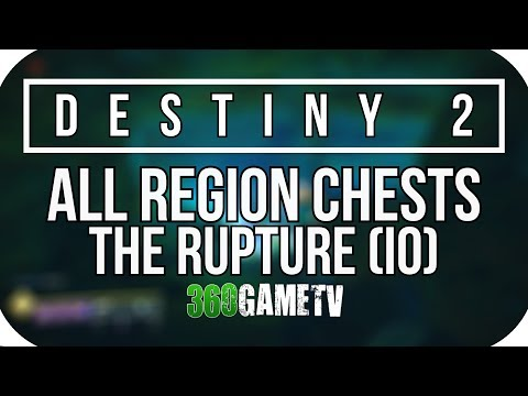 Destiny 2 All The Rupture Region Chest Locations (IO Planet Region Chests Locations Guide)