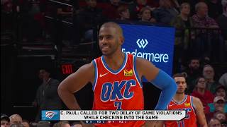 Portland Trail Blazers vs Oklahoma City Thunder | December 8,2019