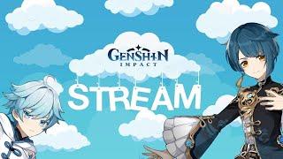 Genshin Impact Первый день  в Игре! ( онлайн стрим 18+ )