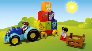 LEGO DUPLO - 10615 Мій перший трактор(Подаруйте можливість вашій дитині стати водієм і навчатись разом з LEGO® DUPLO® Мій перший трактор! Після поєдн..., 2015-07-03T10:52:11.000Z)