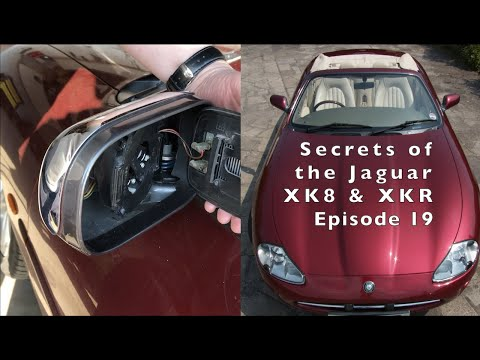 How to replace your broken or problem Jaguar Mirror glass