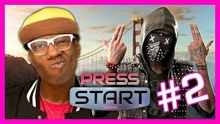 KILLER CRANE IN WATCH DOGS 2 (Press Start)