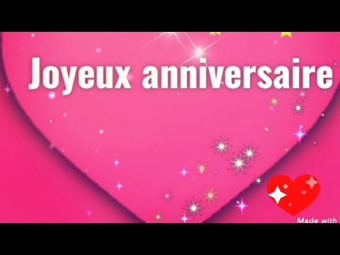 Jolie Carte Virtuelle Gratuite D Anniversaire Youtube
