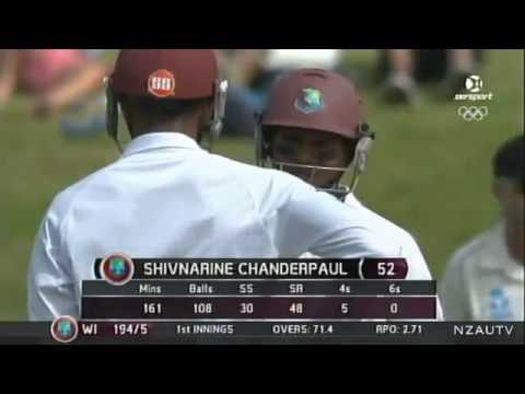 Shivnarine Chanderpaul 122* vs. New Zealand (Hamilton, 2013)