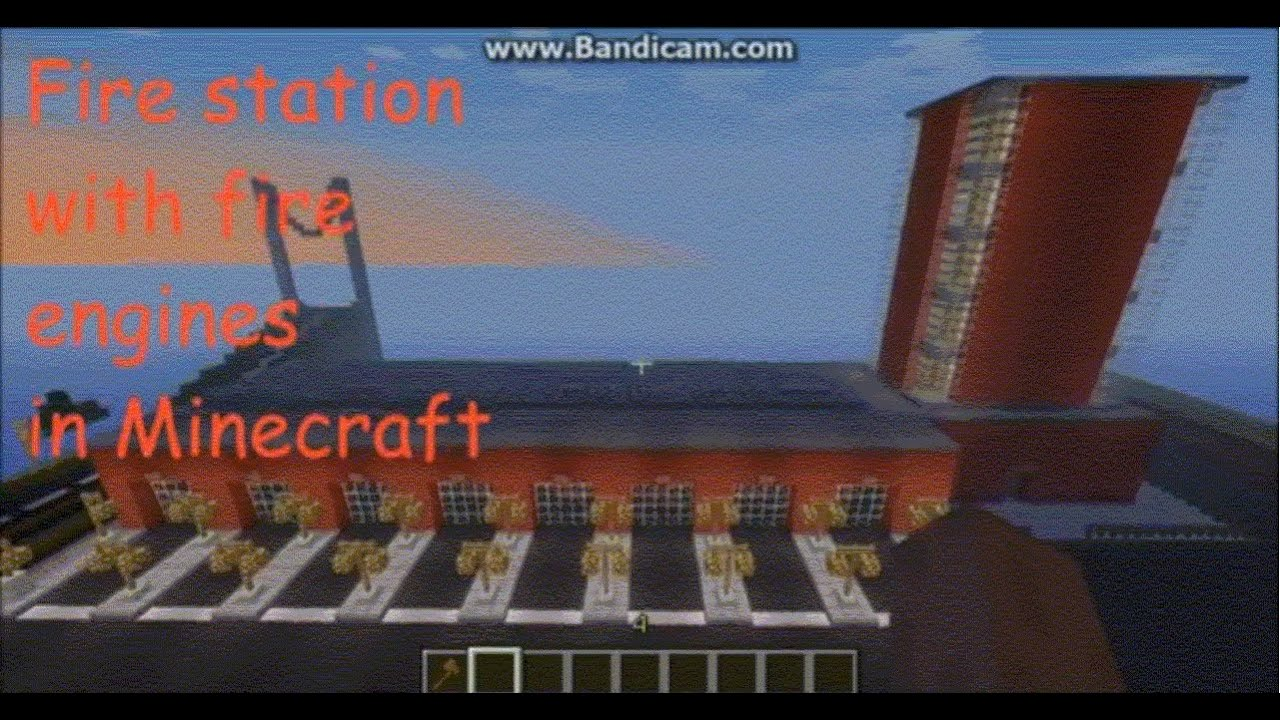 Minecraft Tutorial: How To Make A Petrol (Gas) Station ...