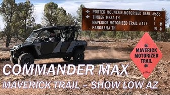 Maverick Trail - Show Low, Pinetop-Lakeside AZ 2018