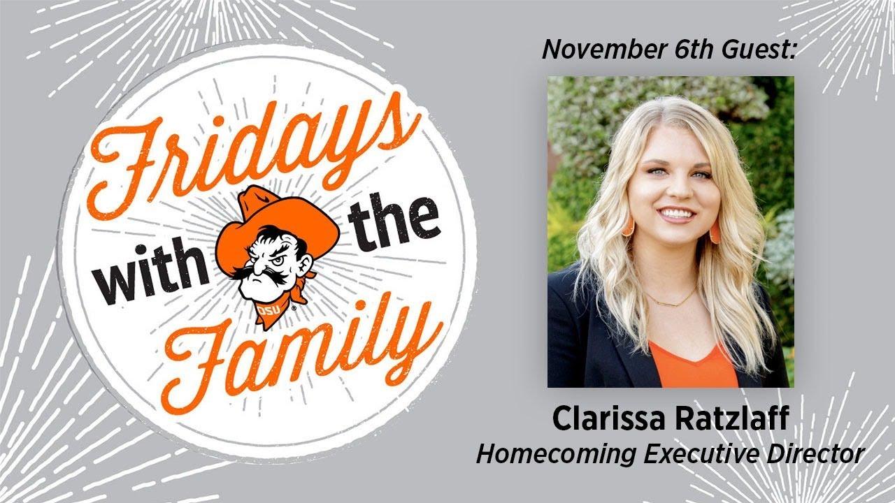 Image for Fridays with the Family - Clarissa Ratzlaff webinar