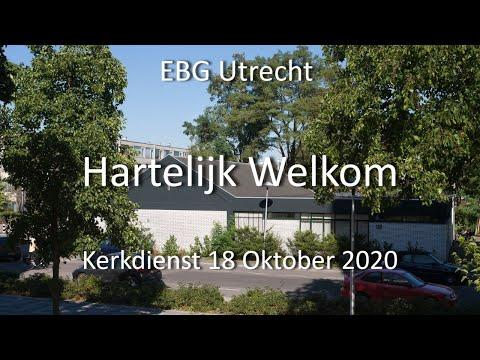 EBG- Utrecht Dienst 18 oktober 2020