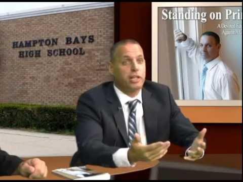 Former Hampton Bays High Scool Principal Frank Vetro, victim of Suffolk County Corruption