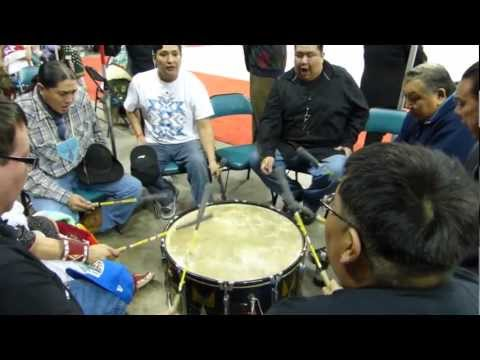 Wind River Drummers/Singers at Denver March Pow Wow