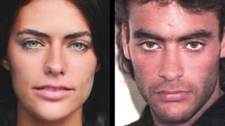 Alyson Le Borges and Anthony Delon   daughter and father