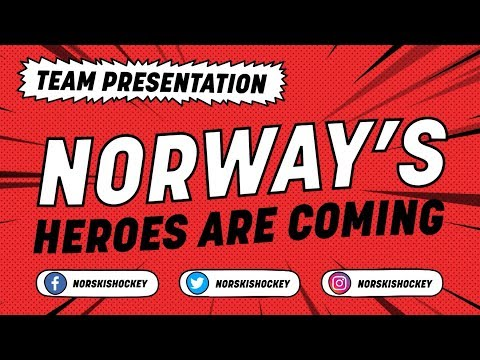 Norway Team Presentation - #IIHFWorlds 2018 - 동영상