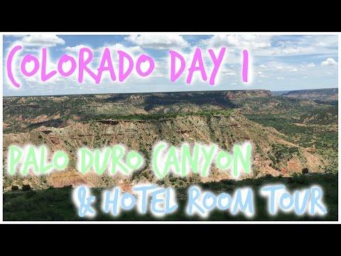 Colorado Day 1: Palo Duro Canyon + Hotel Tour!
