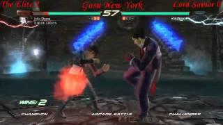The Elite Julia Asuka Vs Lord Savior Kazuya Deathmatch Part 1