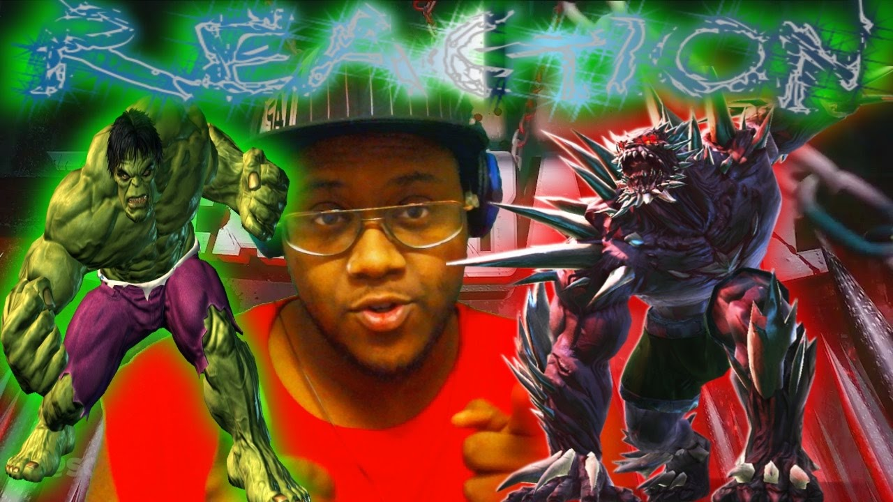 Hulk VS Doomsday | DEATH BATTLE! REACTION - YouTube Doomsday Vs Hulk Death Battle Reaction
