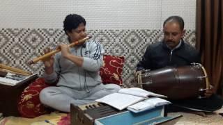 Flute notation allap raag bharvi