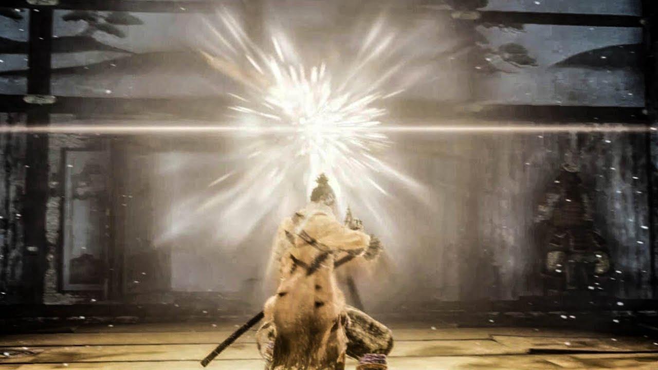 Download Sekiro - Genichiro Ashina NG+7 With Lightning Reversal (Charmless / No Damage)