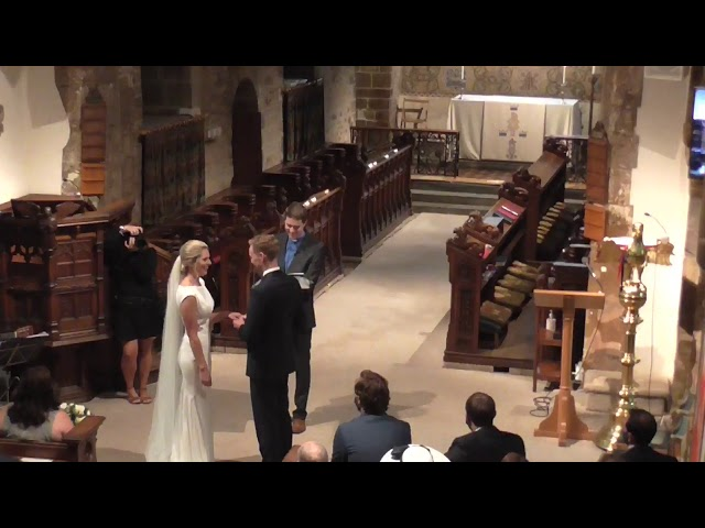 Wedding of Claire and Richard