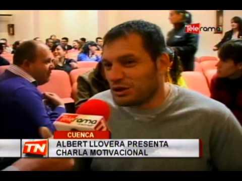 Albert Llovera presenta charla motivacional