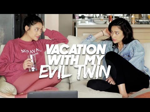 I Took My Evil Twin On Vacation!  Shay Mitchell