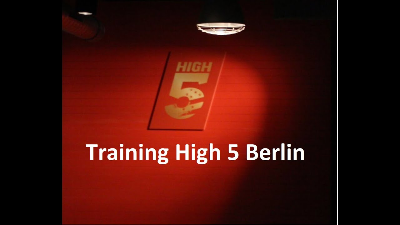 training im high5 berlin youtube. Black Bedroom Furniture Sets. Home Design Ideas