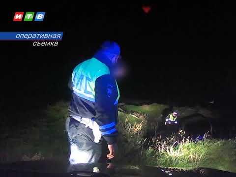 ТРК ИТВ: Пьяный водитель пытался уйти от инспекторов ГИБДД