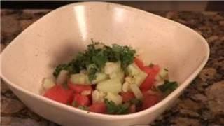 Cooking With Cilantro : Watermelon Cilantro Salad