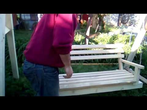 Atelier Tamplarie Confectionat Balansoar Din Lemn Made Wooden Rocking With Claudiu Jurj Part 3 Youtube