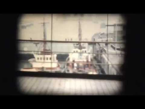 8mm 1964 Merchant ship voyage to Brazil