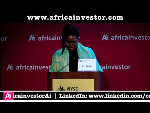 Philisiwe Buthelezi, CEO, National Empowerment Fund, Ai CEO Institutional Investment Summit 2012