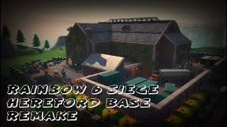 "Rainbow 6 Siege ""Hereford Base"" Remake on Fortnite Creative | Walkthrough (Fortnite Battle Royale)"