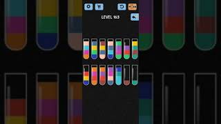 Water Color Sort Level 163 Walkthrough Solution iOS/Android screenshot 2