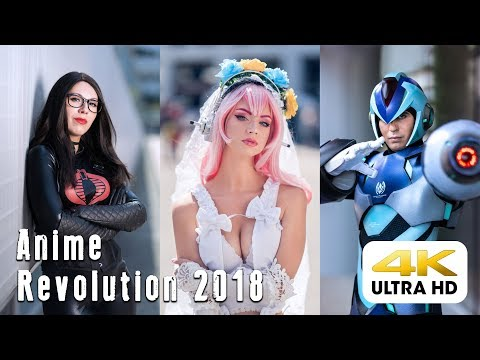 Anime Revolution 2018 CMV In Vancouver British Columbia Shot Ultra HD 4K On Panasonic GH5