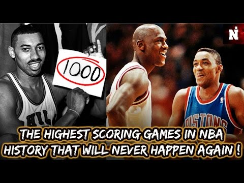 The Highest Scoring Games In NBA History That Will NEVER Happen Again !