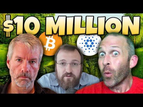 BITCOIN TO $10 MILLION DOLLARS!!!!!! CARDANO TO...
