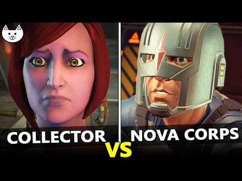 CALL COLLECTOR vs CALL NOVA CORPS - Thanos' Body Choices - Guardians Of The Galaxy Game Episode 1